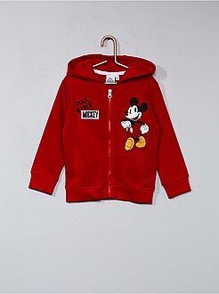Sweatshirt com fecho 'Mickey' - Kiabi