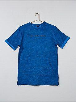 Sweat - Sweatshirt comprida de manga curta - Kiabi