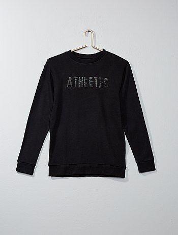 Sweatshirt em moletão 'athletic' - Kiabi