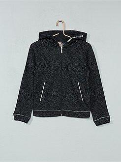 Sweatshirt em moletão leve matizado - Kiabi