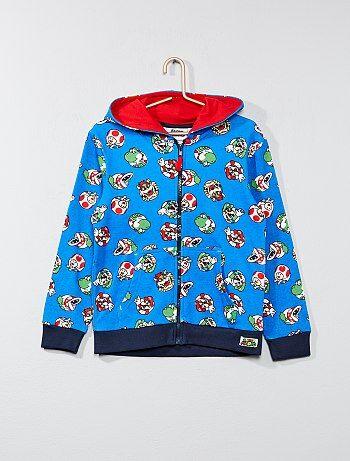 Sweatshirt em moletão 'Mario' - Kiabi