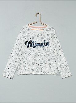 Sweatshirt em moletão 'Minnie' - Kiabi