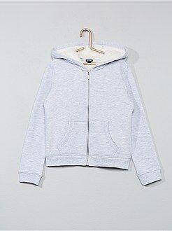 Sweatshirt forrada com capuz - Kiabi