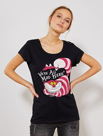 T-shirt 'Alice no País das Maravilhas' - Kiabi