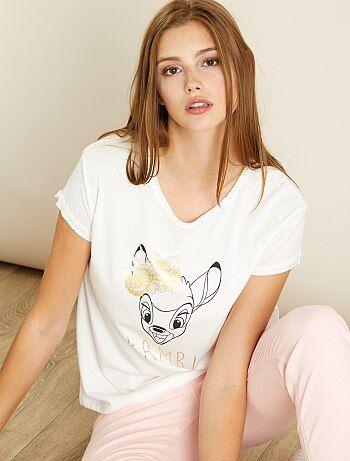 T-shirt com estampado 'Bambi' - Kiabi
