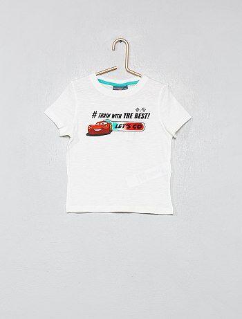 e590fc4687f Menino 3-12 anos - T-shirt com estampado  Carros  - Kiabi