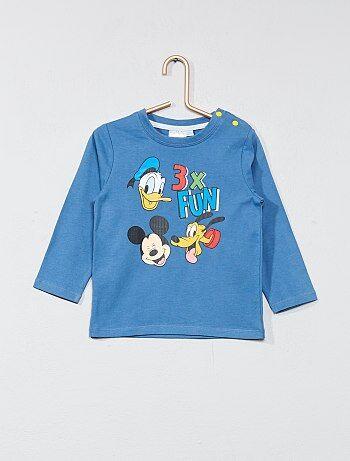 T-shirt com estampado 'Mickey' - Kiabi