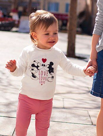 T-shirt com estampado 'Minnie' - Kiabi
