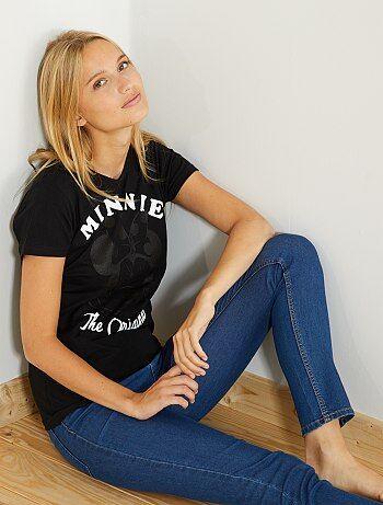 T-shirt com estampado 'Minnie' - Kiabi