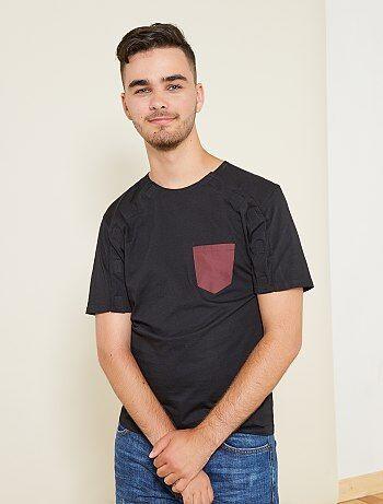T-shirt com velcros 'A&K Classics' - Kiabi