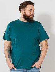 T-shirt conforto em jersey