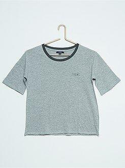 T-shirt de manga curta