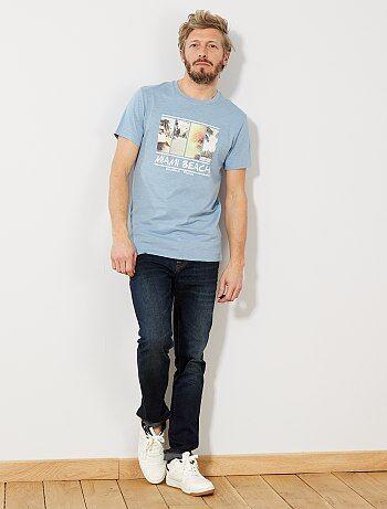 33871f909f3a9 Homem do S até XXL - T-shirt Eco-conception em algodão biológico -