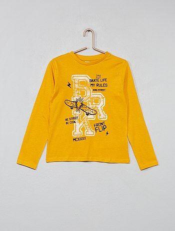 829a8e5a326 Menino 3-12 anos - T-shirt estampada - Kiabi