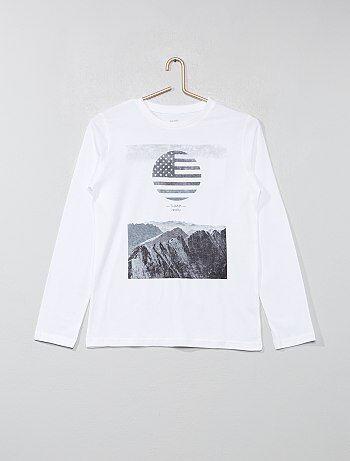 T-shirt estampada - Kiabi