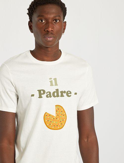 T-shirt estampada                             BRANCO