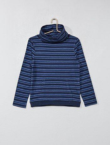 T-shirt gola tubular - Kiabi