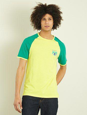 T-shirt justa estampada - Kiabi