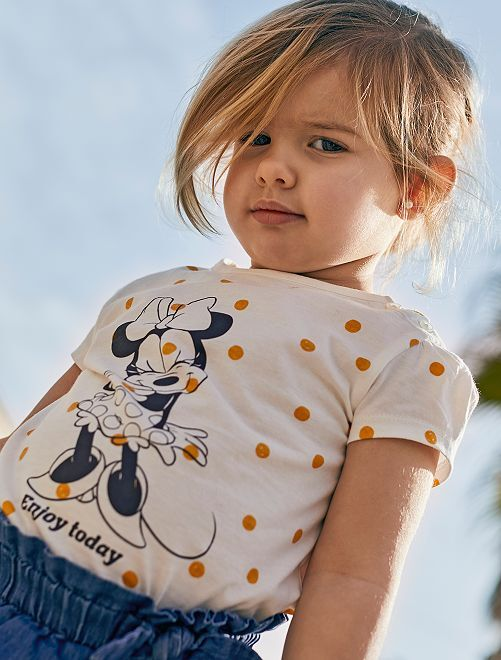 T-shirt 'Minnie'                             BRANCO