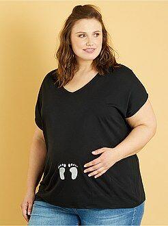 T-shirt pré-mamã - Kiabi