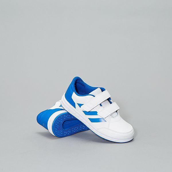 tênis adidas menina atlasport cf k branco