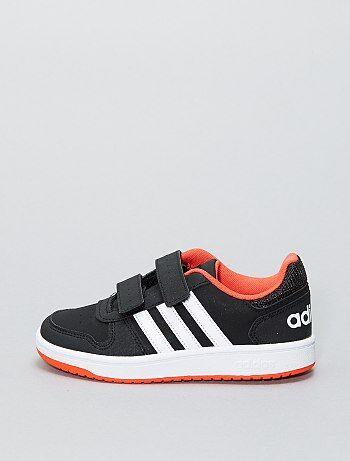 Ténis 'Adidas Hoops CMF C' com velcro - Kiabi