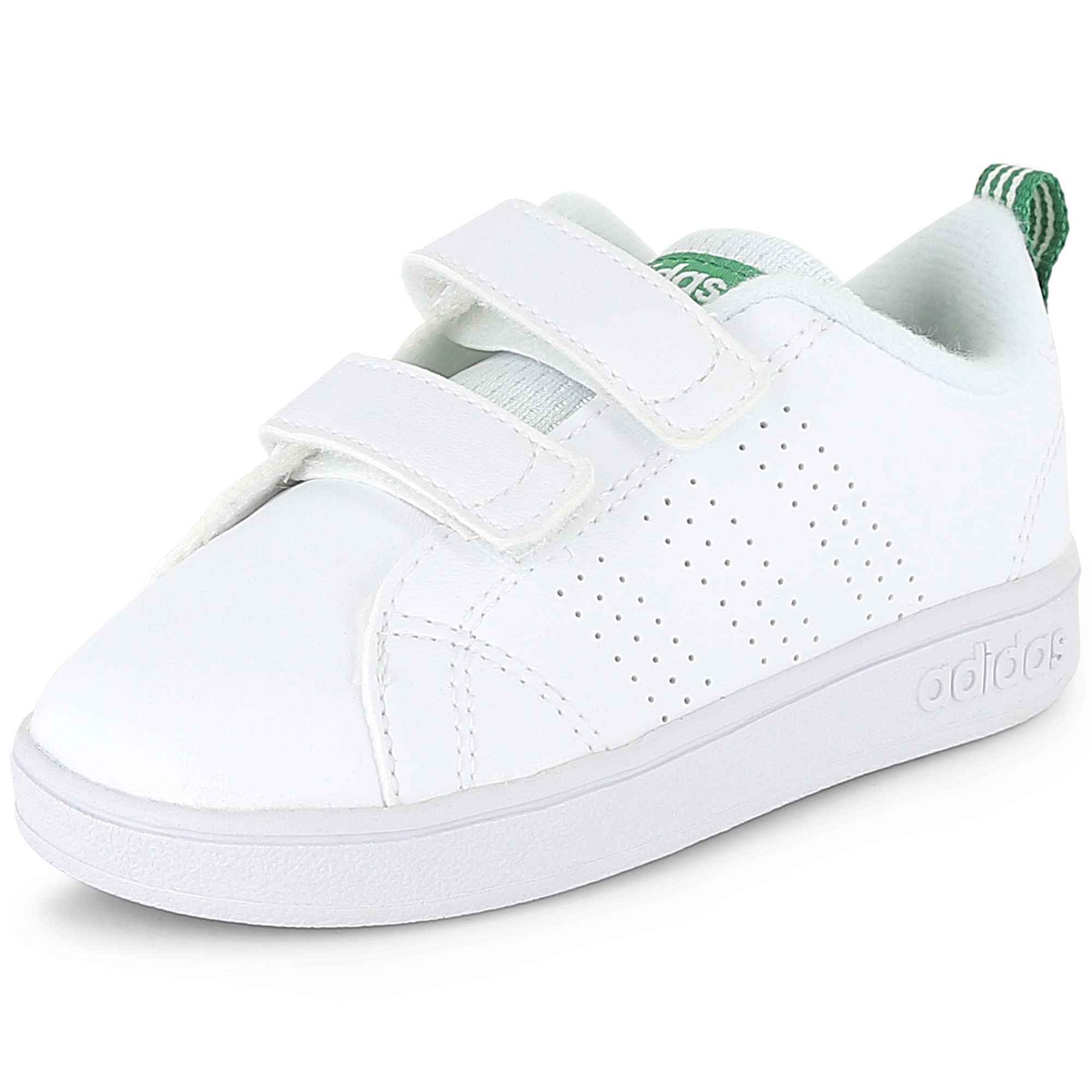 6875bbc1a Ténis 'Adidas VS Advantage Clean' blanco Menino 3-12 anos. Loading zoom