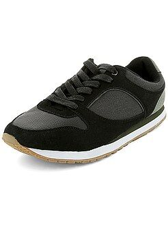 Sapatos homem - Ténis estilo desporto bi-matéria - Kiabi