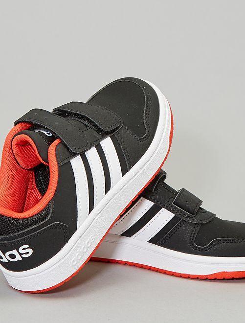 Ténis rasos 'Adidas Hoops K'                                                     PRETO