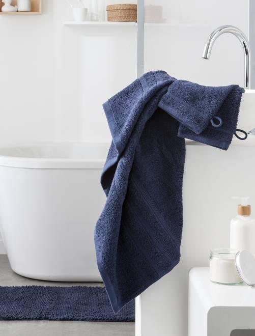 Toalha de banho de 70 x 130 cm e 500 g                                                                                                                                         Azul Marinho