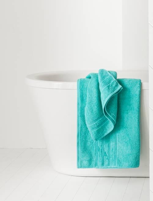 Toalha de banho de 70 x 130 cm e 500 g                                                                                                                                         AZUL