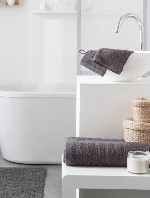 Toalha de banho de 70 x 130 cm e 500 g                                                                                                                                         cinza