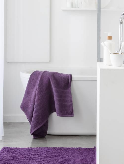 Toalha de banho de 70 x 130 cm e 500 g                                                                                                                                         roxa
