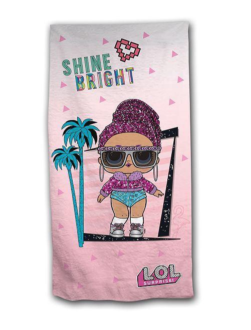 Toalha de praia 'L.O.L Surprise !'                             Rosa