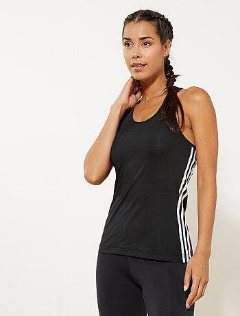 Top de alças de desporto ClimaLite da 'Adidas' - Kiabi