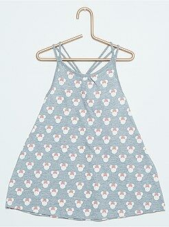 Menina 0-36 meses Vestido de praia com estampado 'Minnie'