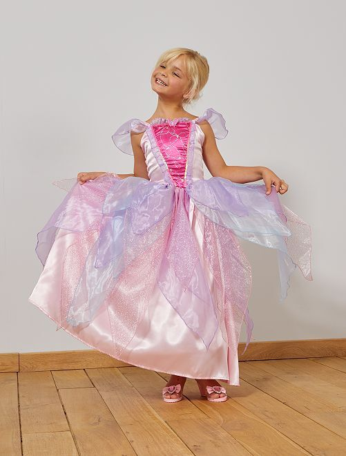 Vestido de princesa                             Rosa