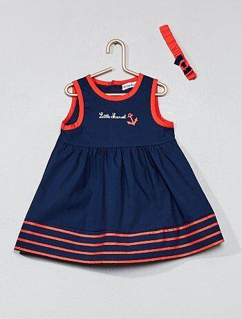 Vestido 'Little Marcel' + bandolete - Kiabi